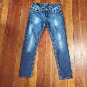 Silver Jeans Co. Suki Skinny Jeans Size 29 x 29